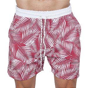 Shorts Tactel Masculino Vermelho