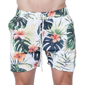 Shorts Tactel  Masculino Hibisco