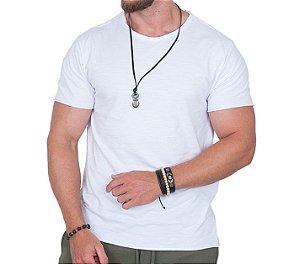 Camiseta Masculina Branca Básica