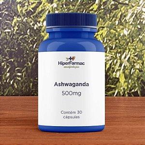 Ashwaganda 500mg - 30 cápsulas