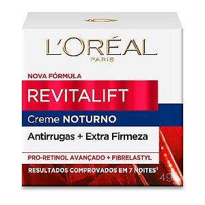 Creme Revitalift Noturno 49g, L'Oréal Paris