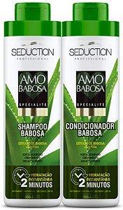 Kit Eico Amo Babosa - Shampoo + Condicionador - 800ml