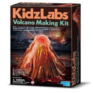 Kit 4M Construa seu Vulcão