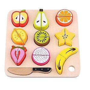 Brincando de Cortar Frutas Tooky Toy