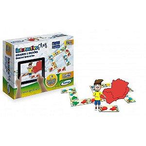 Dominó Interactive Play Xalingo Estados e Regiões