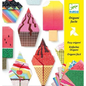 Dobradura Djeco Origami Doces