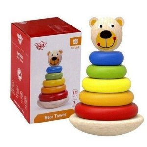 Blocos para Encaixe Tooky Toy Urso