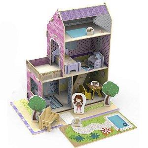 Casinha de Madeira Xalingo Little House Verão