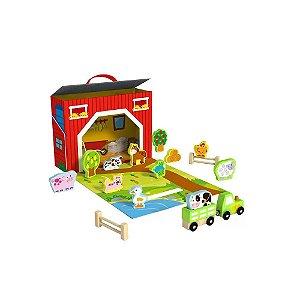 Caixa Divertida Tooky Toy Fazenda