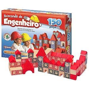 Brincando de Engenheiro Xalingo 150 Peças