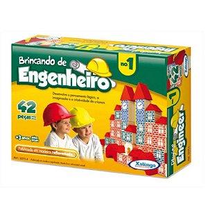 Brincando de Engenheiro I Xalingo 42 Peças