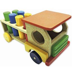 Caminhão Educativo Maninho com Pinos