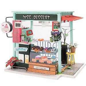 DIY House Sorveteria Doceria em Miniatura Ice Cream Station