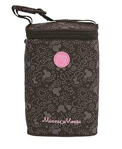 Porta Mamadeira Minnie Mouse Disney | Cor: Preto