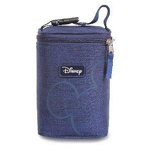 Porta Mamadeira Térmico Mickey | Cor: Azul