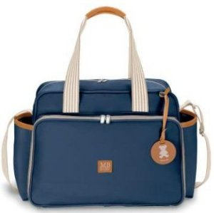 Bolsa Maternidade MBBaby Classic | Cor: Azul