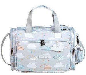 Bolsa Maternidade Masterbag Anne Nuvem | Cor: Cinza