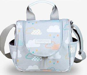Frasqueira Térmica Masterbag Baby Emy Nuvem | Cor: Nuvem
