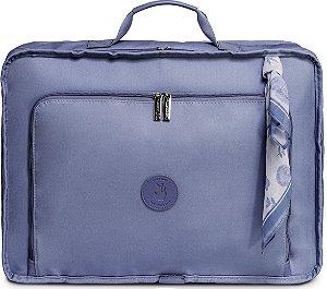 Mala Maternidade Masterbag Baby Vintage Fauna | Cor: Azul