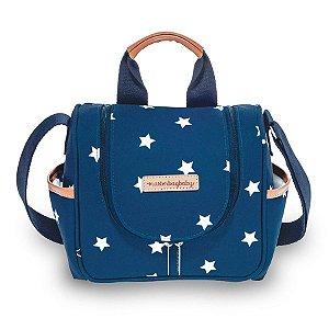 Frasqueira Maternidade Térmica Masterbag Emy Navy Star | Cor: Azul marinho