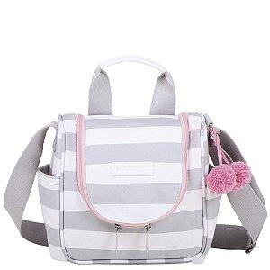 Frasqueira Maternidade Térmica Masterbag Emy Candy Colors | Cor: Ice Pink