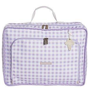 Mala Maternidade Vintage Sorvetinho Masterbag | Cor: Lilás