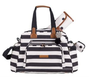 Bolsa Maternidade Masterbag Baby Everyday Brooklyn | Cor: Brooklyn Preto