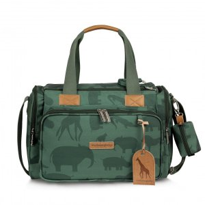 Bolsa Maternidade Anne Com Bolso Térmico Safari Masterbag | Cor: Verde
