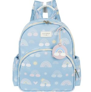 Mochila Kids Arco-íris Masterbag | Cor: Azul