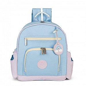 Mochila Maternidade Noah Colors Masterbag | Cor: Azul