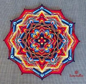 Mandala Vênus 12 pontas 80 cm