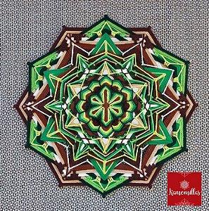 Mandala Gaia 12 pontas 35 cm