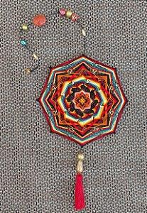 Mandala em linha 15 cm