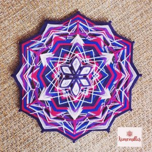 Mandala 12 pontas  Sexto e sétimo chakras