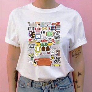 Camiseta Friends Diversos Desenhos