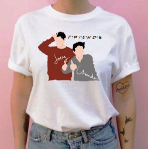 Camiseta Friends Joey e Chandler