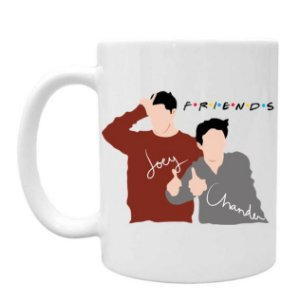 Caneca Friends Joey e Chandler