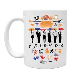 Caneca Friends Vários Desenhos