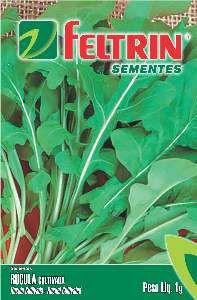 Semente Rúcula Cultivada - Feltrin - 25 unidades