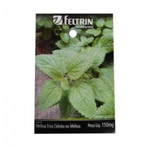 Semente melissa ou erva cidreira - Feltrin - 20 unidades