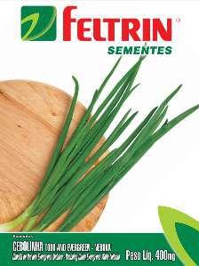 Semente Cebolinha Todo Ano Evergreen - Feltrin - 25 unidades