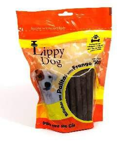 Bifinho palito frango 500g - Lippy Dog