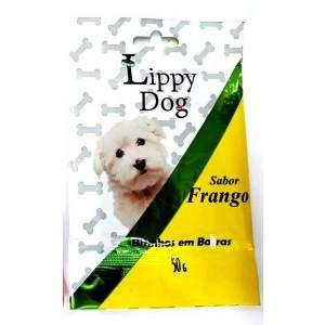 Bifinho barra sache frango 50g - Lippy Dog