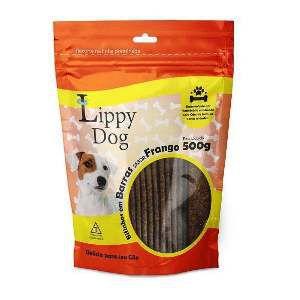 Bifinho barra frango 500g - Lippy Dog