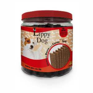 Bifinho barra carne 1kg - Lippy Dog