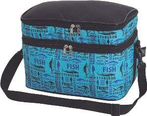 Bolsa termica poliester 10L azul - Sak's - 29x20x19,5cm