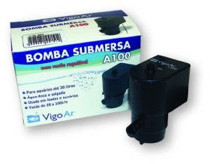 Bomba submersa turbo flex A100 220V - GPD - 7x9x5cm