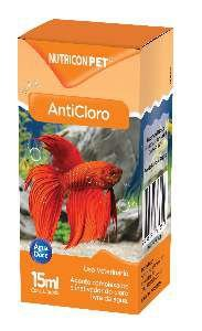 Anticloro para aquarios 15ml - Nutricon
