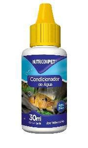 Condicionador de agua para aquarios 30ml - Nutricon