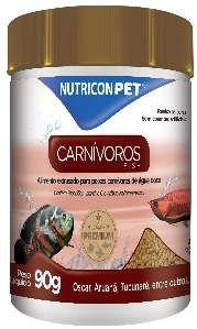 Racao carnivoros de superficie 90g - Nutricon